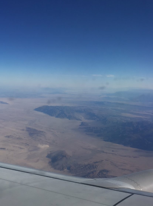 Week 3 Flying over California