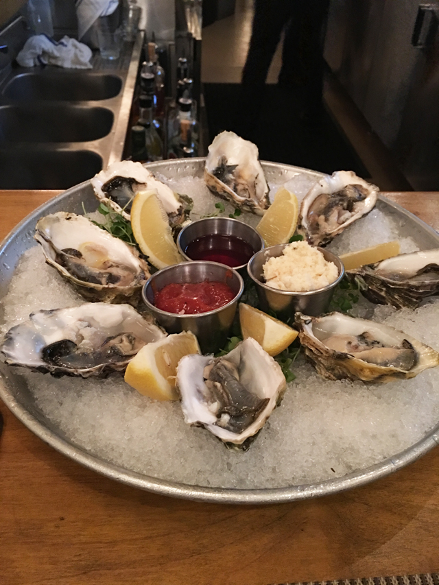 Week 3 Oysters at Parc Bistro SD
