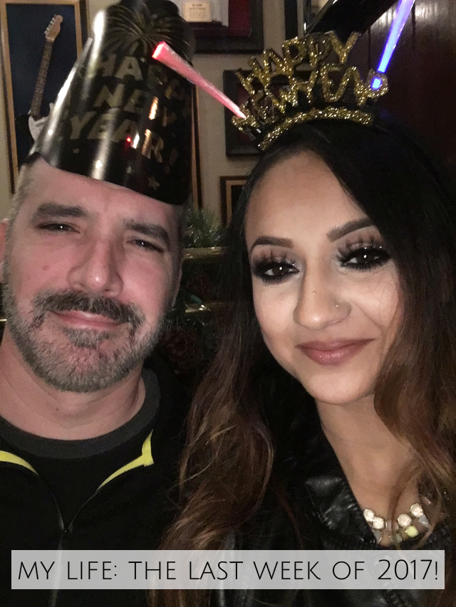 Week 5 Derek and I NYE 2017 Hard Rock San Diego