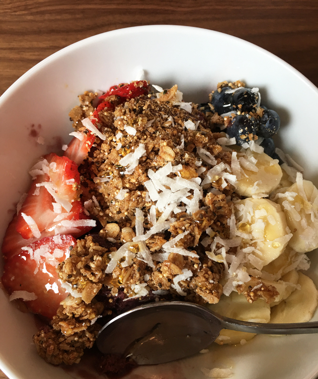 Week 7 Acai Bowl WestBean Coffee Roasters
