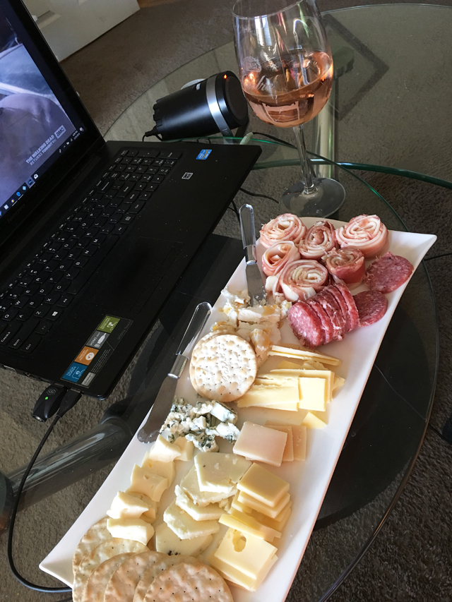 Week 13 Charcuterie and Walking Dead