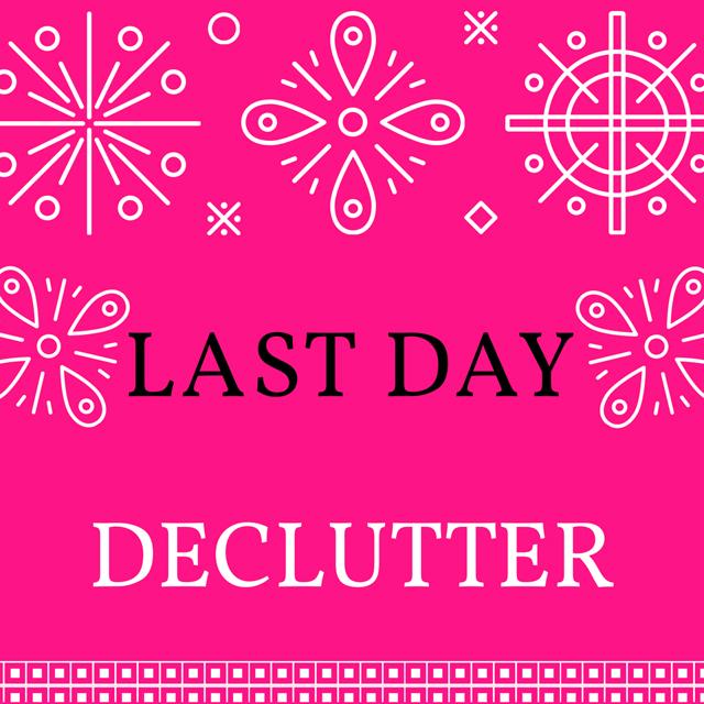 Week 13 Declutter Challenge