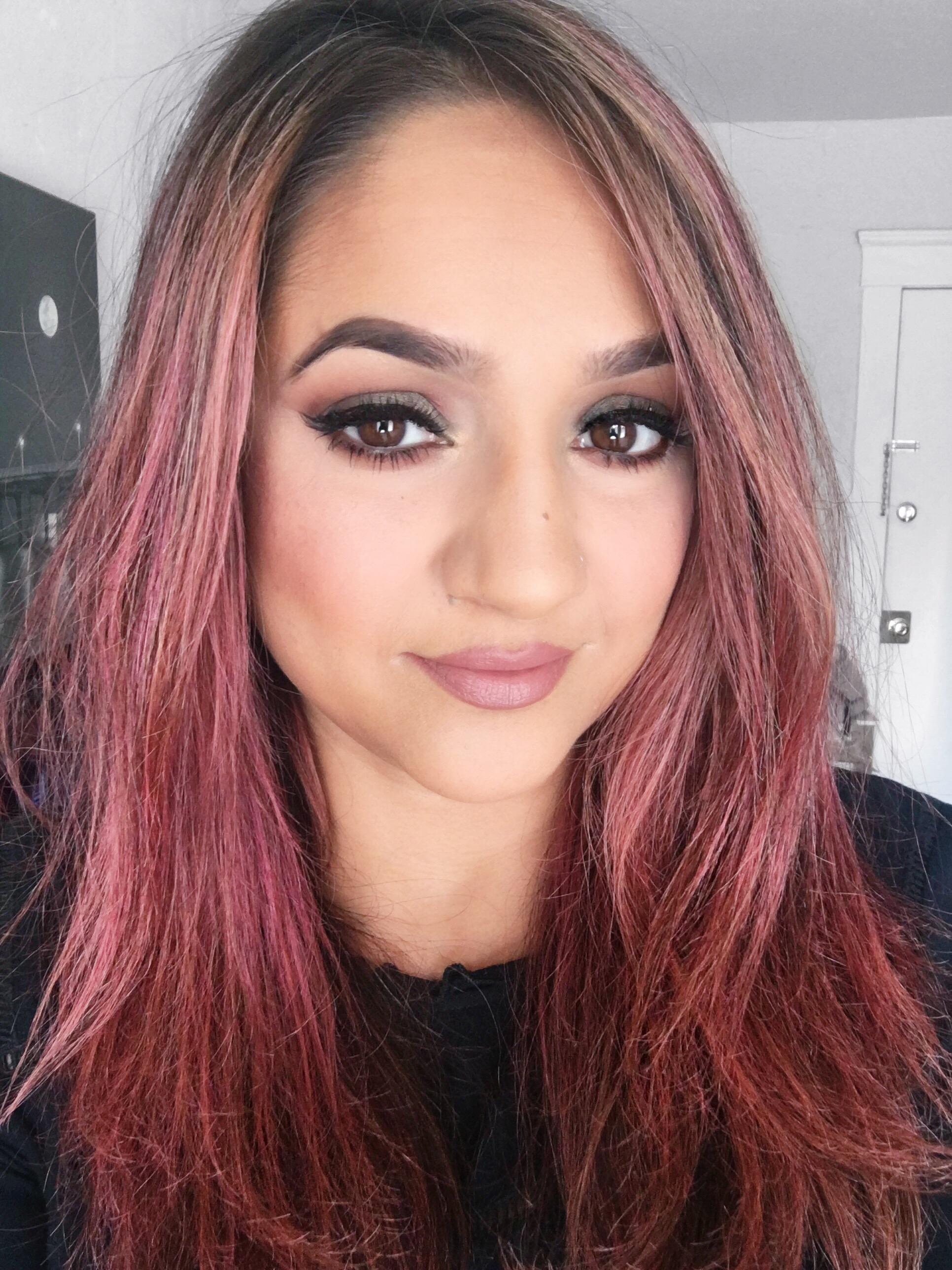 Deepa Berar Pink Hair
