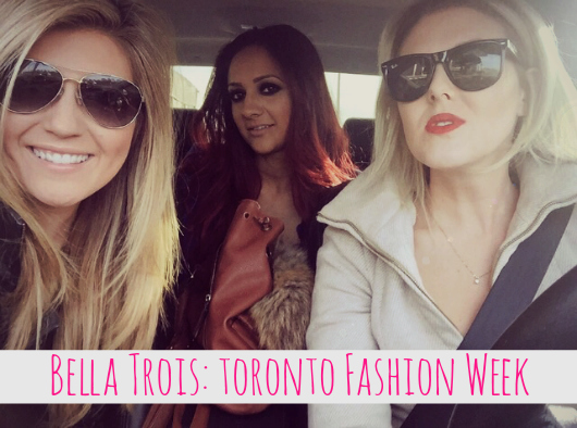 Bella trois Toronto fashion week