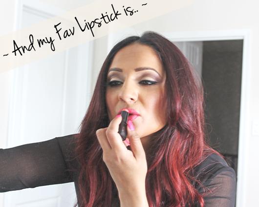 Deepa Berar lipstick