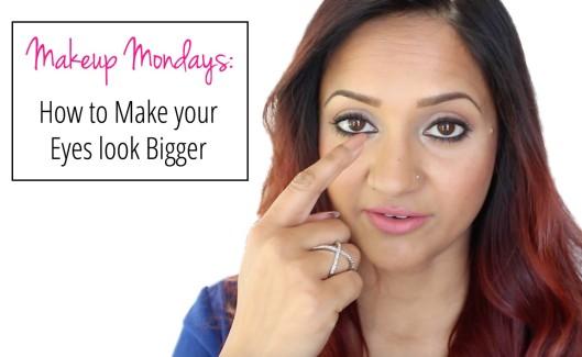 Makeup Mondays How to make your eyes look bigger