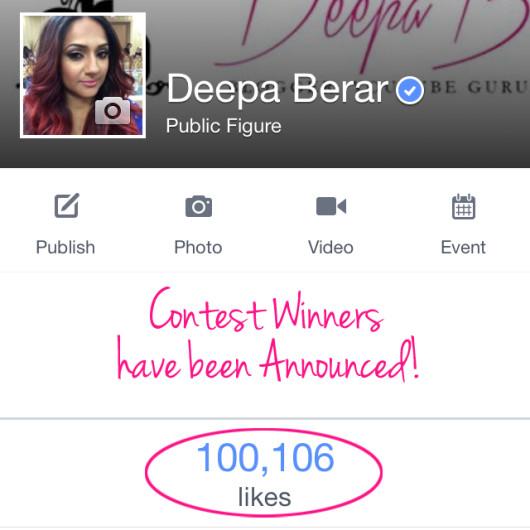 facebook contest 100k