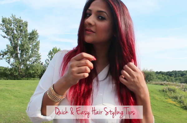 quick and easy hair styling tips