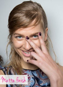 nail trends spring 2016 matte finish