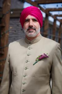 Deepa Berar Wedding Chef Derek LaVelle