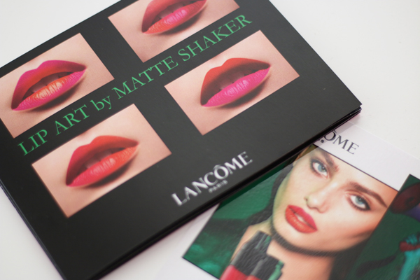 Summer lip trends 2017 Lancome Lip Art Matte Shakers