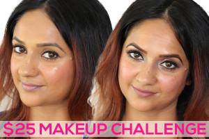 25 Dollar Makeup Challenge 2 Looks Deepa Berar