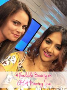 Affordable beauty on CHCH Morning Live Ilona Santa Deepa Berar
