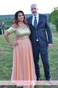 My Wedding Reception Deepa and Derek