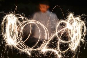 My Wedding Reception Fireworks