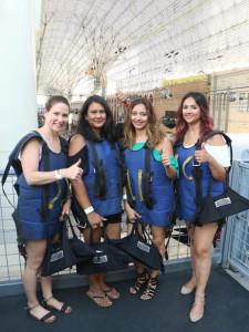 Vegas 2017 Ziplining Fremont Street