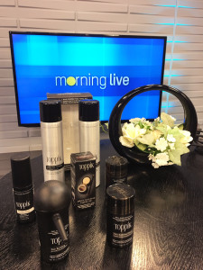 Hair Styling for Alopecia using Toppik Canada