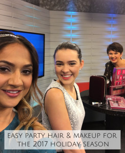 2017 Holiday Party Hair and Makeup on CHCH Morning Live