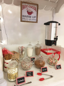 Deepa Berar November 2017 Estee Lauder Holiday Event All that Glitters Hot Chocolate Bar