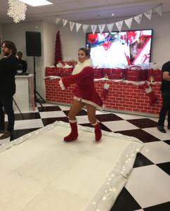 Deepa Berar November 2017 Estee Lauder event Ice Skater
