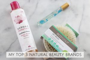 Top 3 Natural Beauty Brands