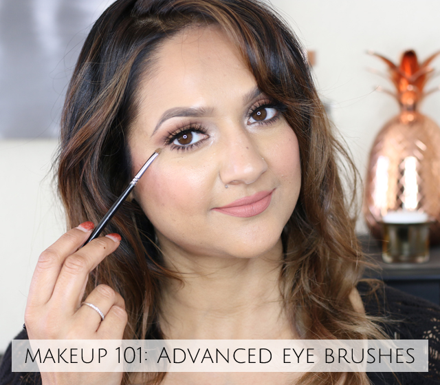 Makeup 101 Advanced Eye Brushes