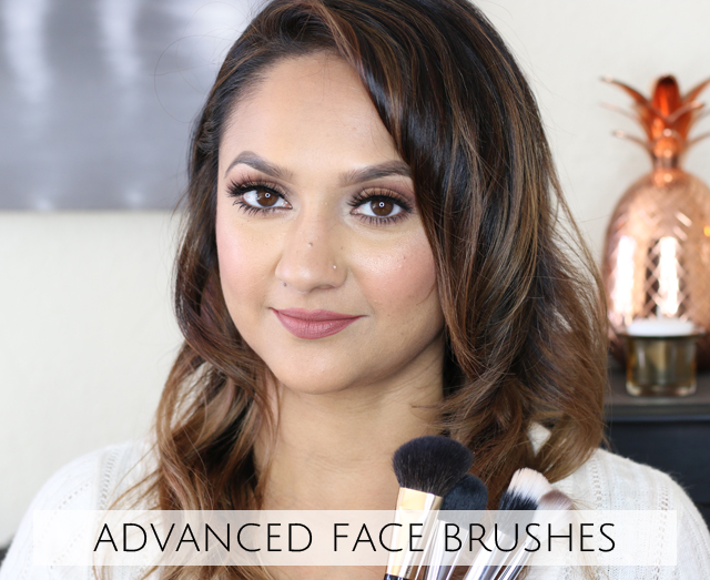 Makeup 101 Advanced Face Brushes