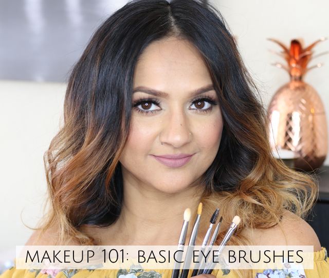 Makeup 101 Basic Eye Brushes