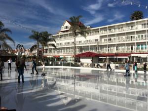 Week 6 Ice Skating at the Del Hotel