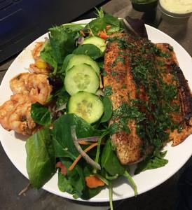 Week 7 Chef LaVelle Seafood Salad