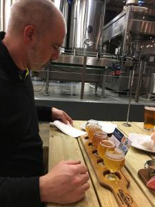 Week 8 Derek at Coronado Brewery