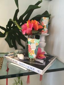 Week 9 Estee Lauder Event Aerin Hibiscus Palm