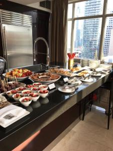 Week 9 Estee Lauder Event Food
