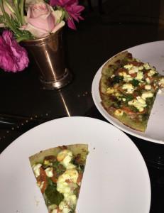 Week 15 Cauliflower Crust Pizza