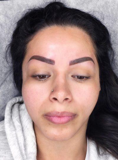 Eva After San Diego Microblading