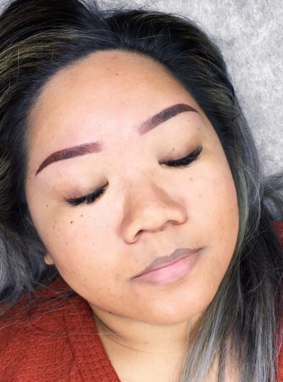 Danielle After San Diego Microblading