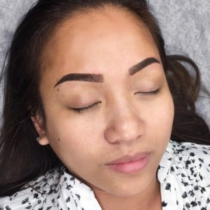 Carmenica After San Diego Microblading