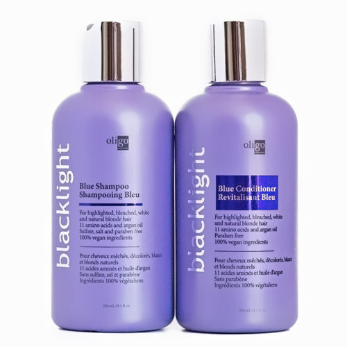 Oligo Blue Shampoo and Conditioner