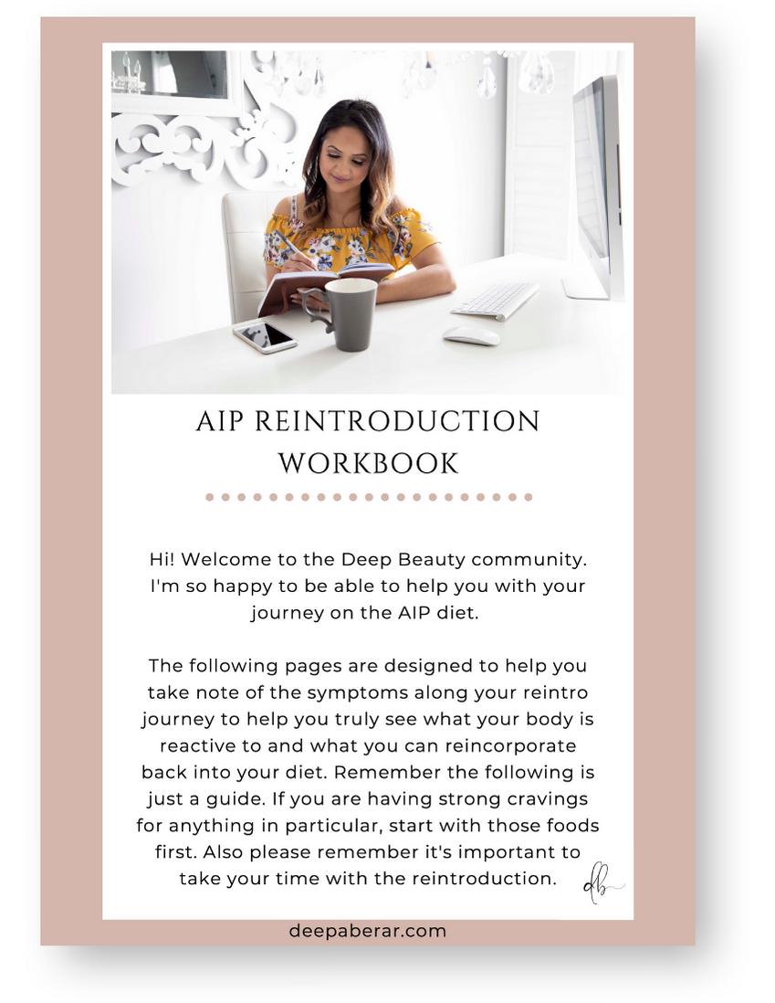 AIP Diet Reintroduction Workbook